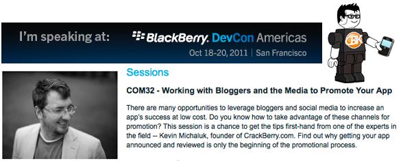 CBK @ BlackBerry DevCon