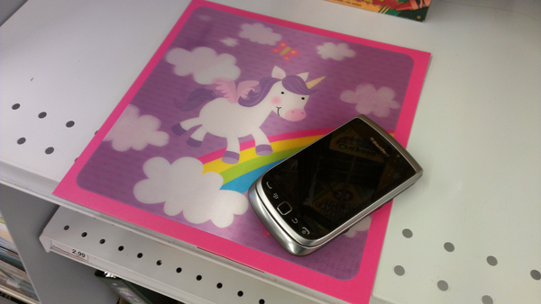 Unicorns and BlackBerrys