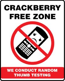 CrackBerry Free Zone