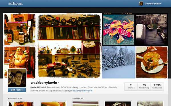 CrackBerry Kevin on Instagram