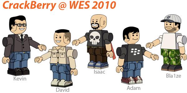 CrackBerry @ WES 2010!
