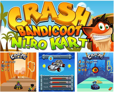 Crash bandicoot nitro kart 3d android