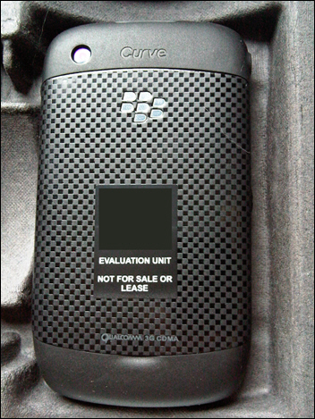 BlackBerry Curve 8530 - back