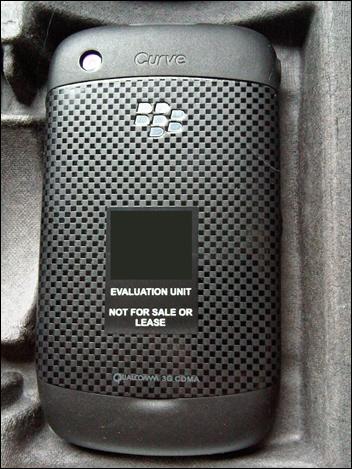 BlackBerry Curve 8530 - back