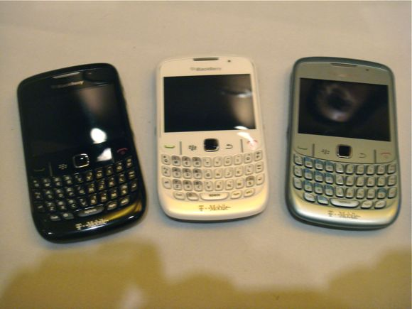 BlackBerry Bold and Curve 8520