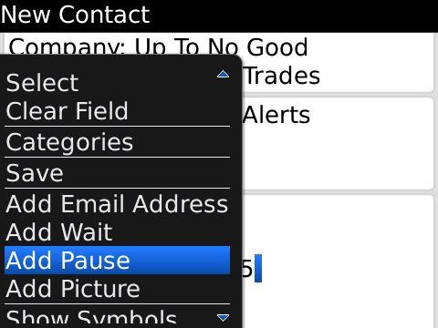 Add Pause