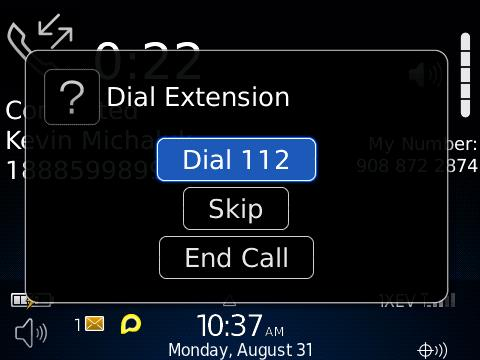 Dial Extension?