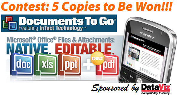 Win a Copy of Documents To Go Premium Edition!