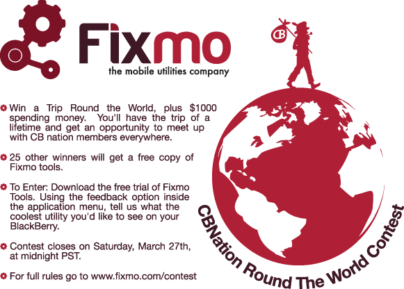 Fixmo Around the World Contest!