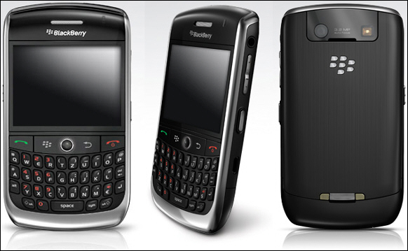 BlackBerry Curve 8900 Shipping from T-Mobile Germany