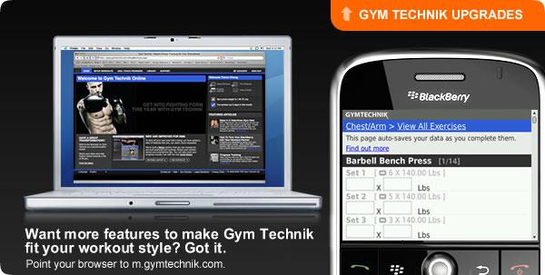 Gym Technik Gets an Update!