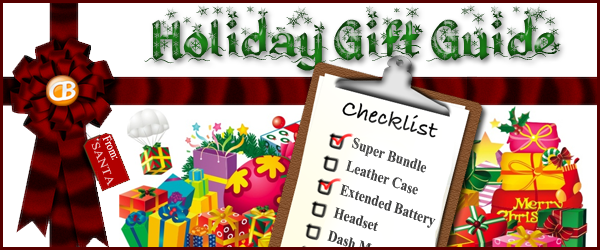 CrackBerry.com's Holiday Gift Guides