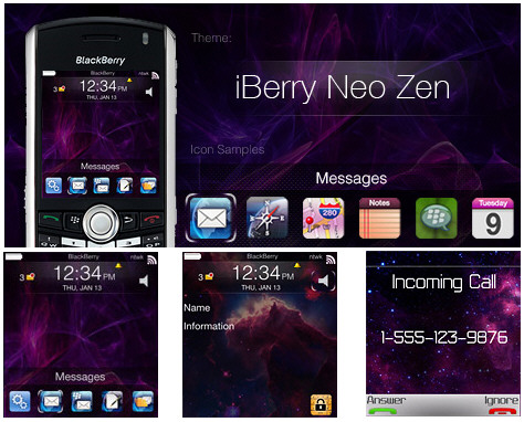 iBerry New Zen Theme