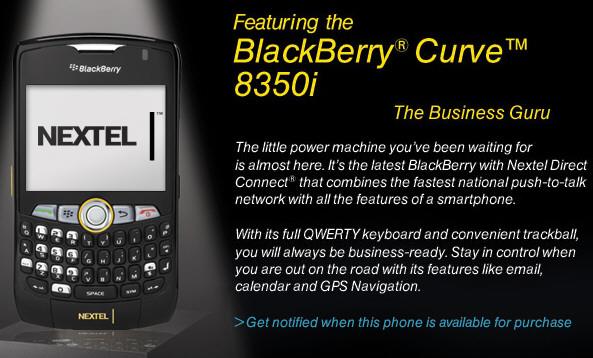 gps para blackberry 8350i nextel