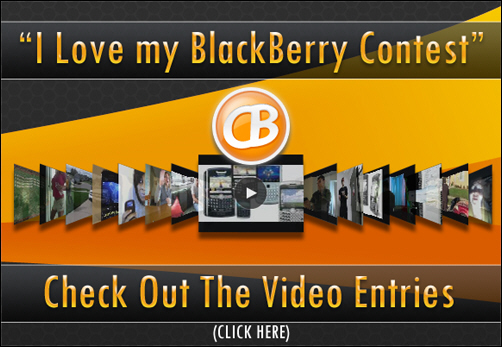 I Love my BlackBerry Contest Entries!
