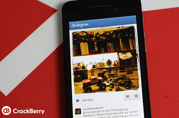 Instagram still coming to BlackBerry 10