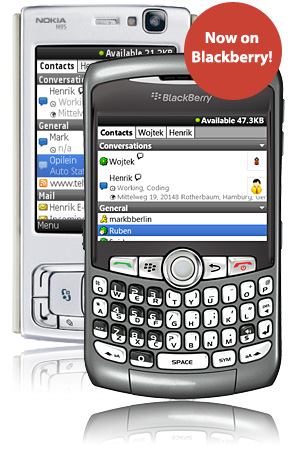 Instango for BlackBerry