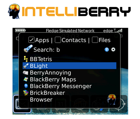 IntelliBerry for BlackBerry Smartphones