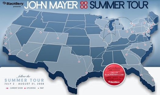 John Mayer Summer Tour