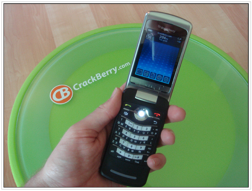BlackBerry KickStart 8220 Smartphone Hands-On Review