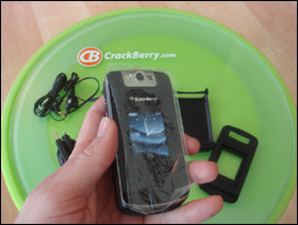 Still Fresh - BlackBerry KickStart with external display and camera