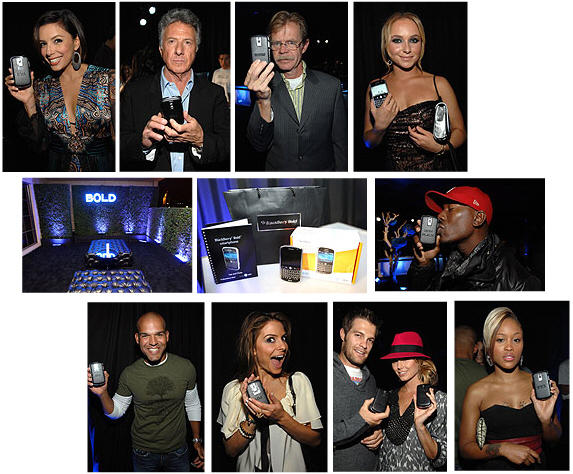 L.A. BlackBerry Bold Launch Party!