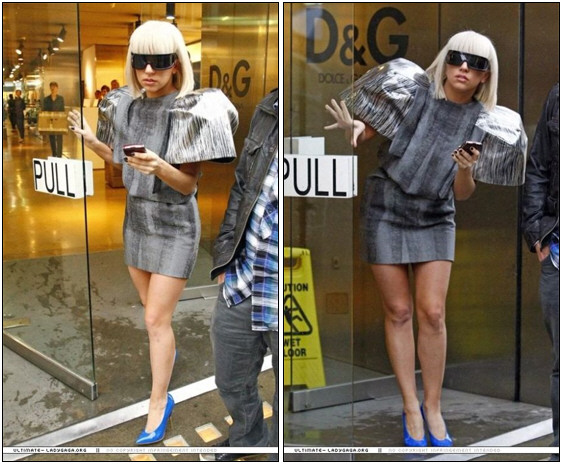 Lady Gaga Needs a BlackBerry 9630