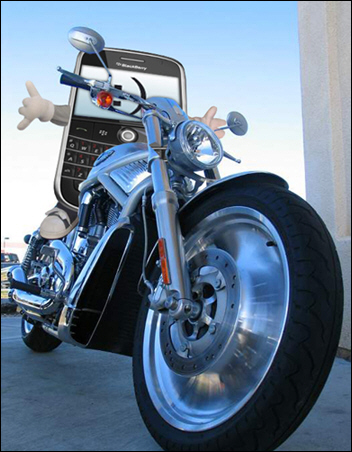 BlackBerry Rider