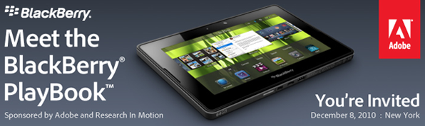 Meet the BlackBerry PlayBook!