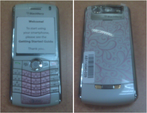 New AT&T BlackBerry Pearl 8110 Color!