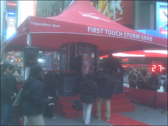 NYC First Touch Storm Grab Event!