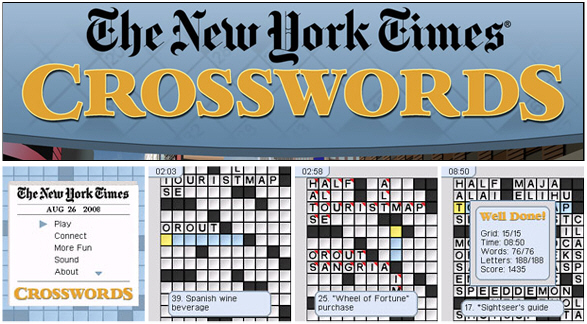 The New York Times Crosswords
