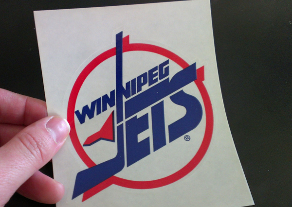 Winnipeg Jets Stickers