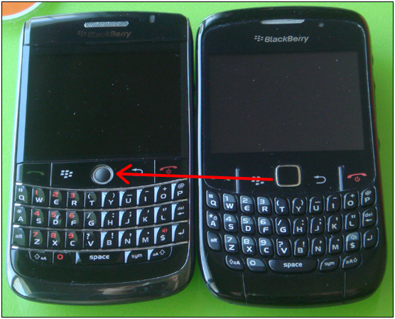 BlackBerry 9020 to Have Optical Trackpad
