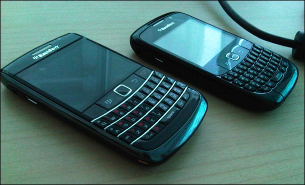 BlackBerry Onyx with Trackpad