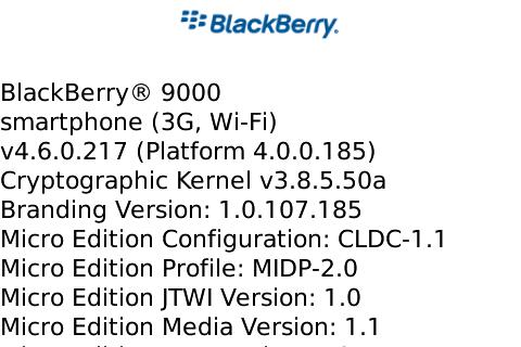 OS 4.6.0.217 for the BlackBerry Bold Now Available!