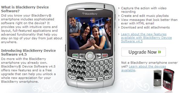 Blackberry desktop software 5. 0. 1 available for download.