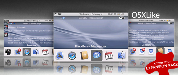 OSXLike Theme from HedoneDesign