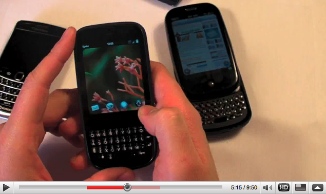CrackBerry Goes Palm WebOS!