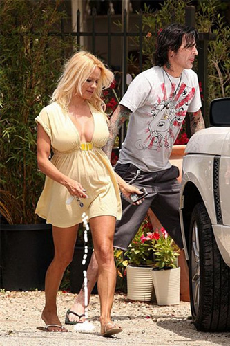 Pamela Anderson is a BlackBerry Curve User