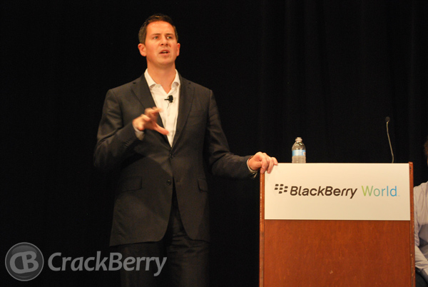 Patrick Spence at BlackBerry World 2012