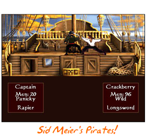 Pirates! for BlackBerry