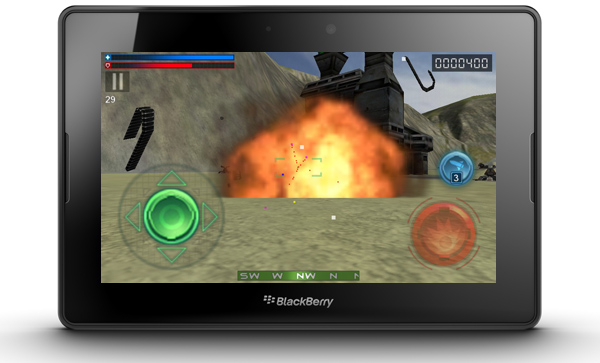 Tank Recon 3D for the BlackBerry PlayBook
