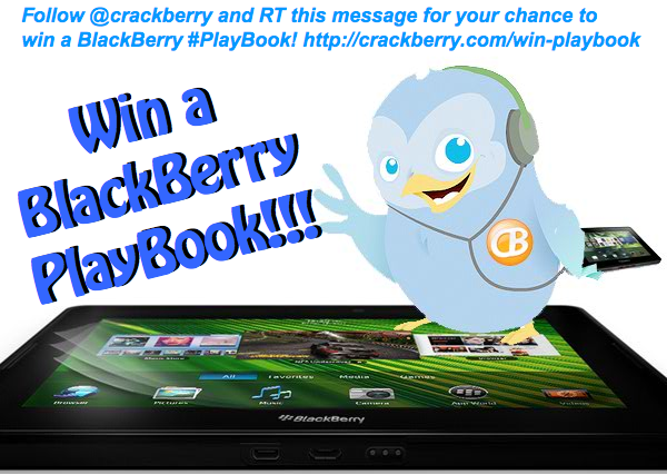 Win a BlackBerry PlayBook!