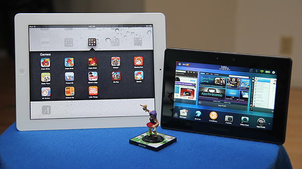 iPad 2 vs. PlayBook