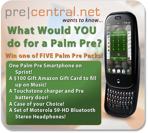 What Would You Do for a Palm Pre?