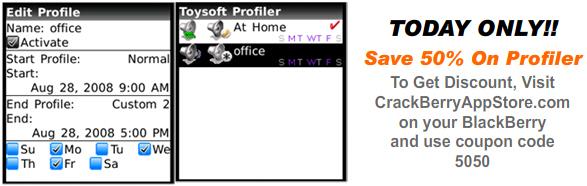 Profiler Sale!