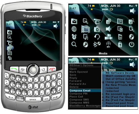 PlayStation 3 Theme for BlackBerry