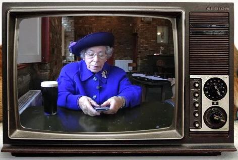 Queen's CrackBerry Address
