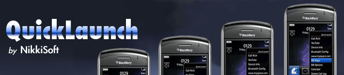 QuickLaunch for BlackBerry Smartphones